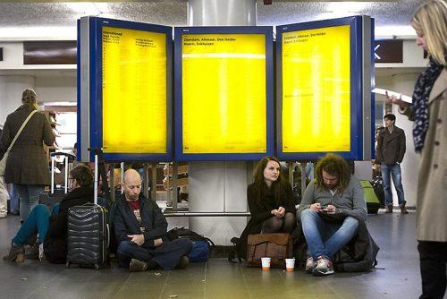 NS Vertrekstaat Uit Nederland