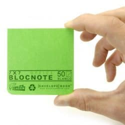 EnvelopeBook office blocnote 7x7 LoopedGoods