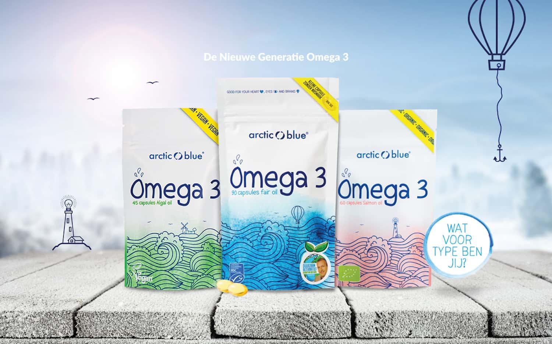 arctic blue visolie omega3 LoopedGoods