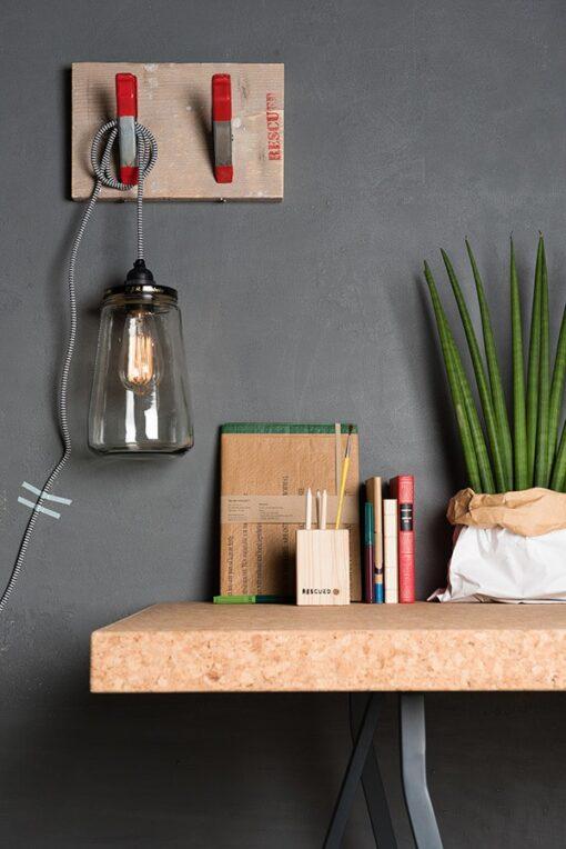 the Pickle Light black/white cord Uit Nederland