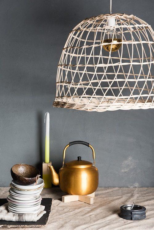 the Wicker Lamp Verlichting