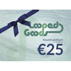 LoopedGoods Cadeaubon (fysiek) Cadeaubonnen