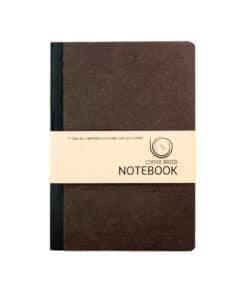 Coffee Based Notebook van koffiedik Noteren