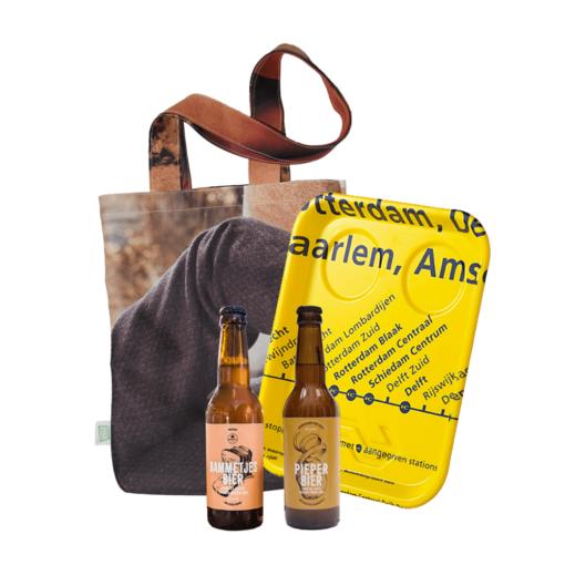 Cadeaupakket 'Goods to go' Geven