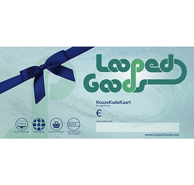 LoopedGoods Cadeaubon digitaal Cadeaubonnen
