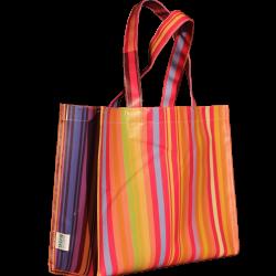 Kleurrijke shopper Opbergen