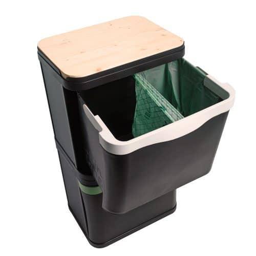 Afvalbak BinBang 2x29L Bakken & Dozen
