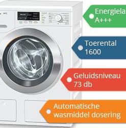 Miele W1 wasmachine Abonneren