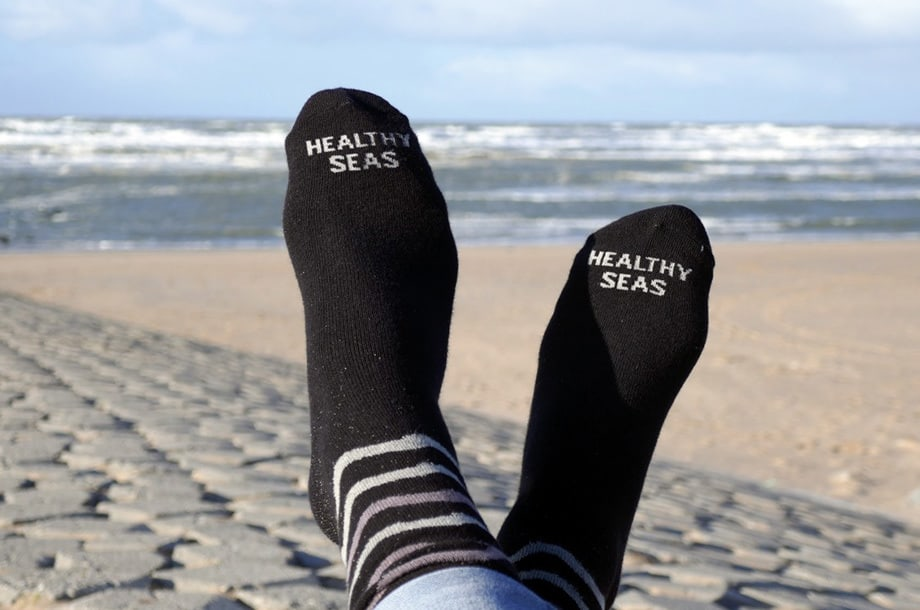 Healthy Seas Socks - Sokken van gedumpte visnetten