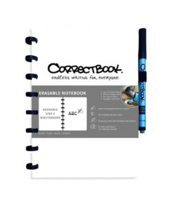 Correctbook A5 wit Handig