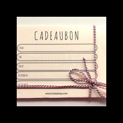 Hulaaloop Cadeaubon (Fysiek) Aankleden
