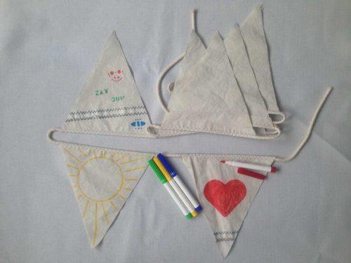 Vlaggenslinger 3m Kinderkamer