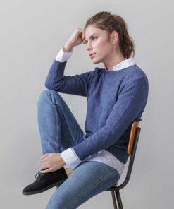 Loop.a life Weekend Sweater 3/4 sleeve Jean Aankleden