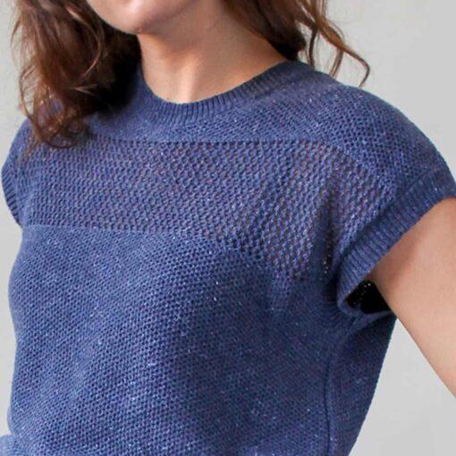 Loop.a life Weekend Sweater short sleeve Jean Aankleden