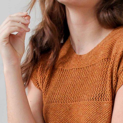 Loop.a life Weekend Sweater short sleeve Aankleden