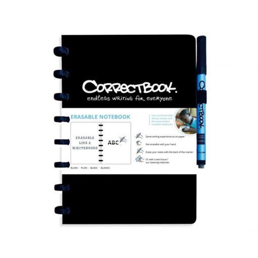 Correctbook A5 zwart Handig