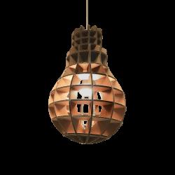 Kartonnen hanglamp Verlichting
