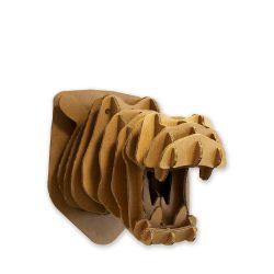 Kartonnen dierenhoofd – Nijlpaard Kinderkamer