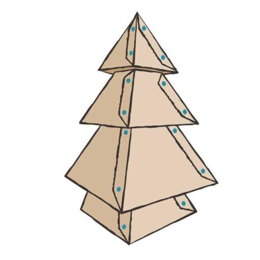 Makedo Holiday Kit – Kerstboom Speelgoed