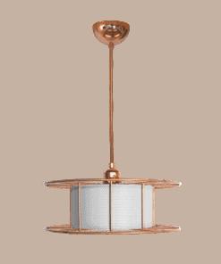 Tolhuijs Design, Hanglamp, spool, lasdraad, lamp, wit