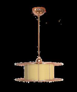 Tolhuijs Design, Hanglamp, spool, lasdraad, lamp, koper