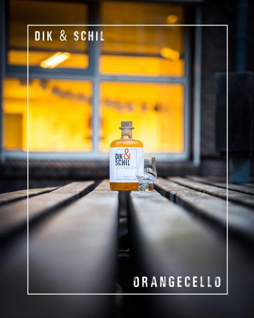 Dik en Schil's Orangecello Eten & Drinken