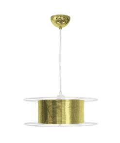 Hanglamp Spool Deluxe Messing Uit Nederland