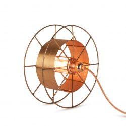 Vloerlamp Spool Deluxe Copper Uit Nederland