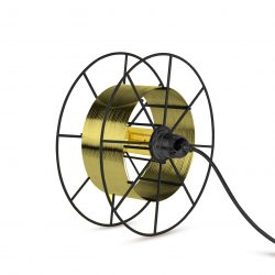 Vloerlamp Spool Deluxe Messing Uit Nederland