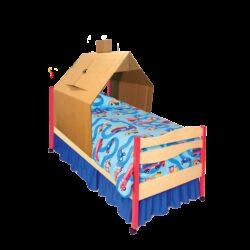 Kartonnen Kinderbed Huis Speelgoed