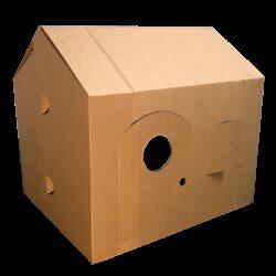 Kartonnen Kinder Speelhuis Speelgoed