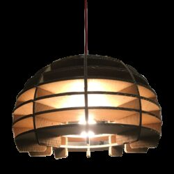 Kartonnen Gelsenkirchen Lamp Uit Nederland