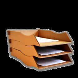Kartonnen Postbakjes 3x Handig