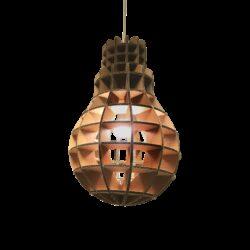 Kartonnen Villarobledo Lamp Uit Nederland