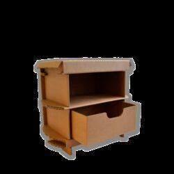 Kartonnen Nachtkastje 45cm Meubels