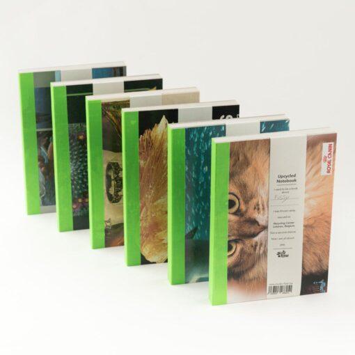 Upcycled notitieboek Noteren