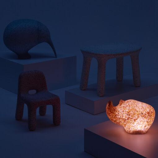 Rhino Lamp RGB LED Kinderkamer