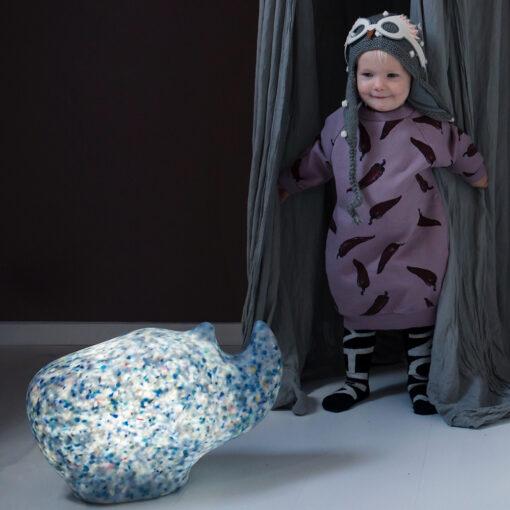 Rhino Lamp Bulb Kinderkamer