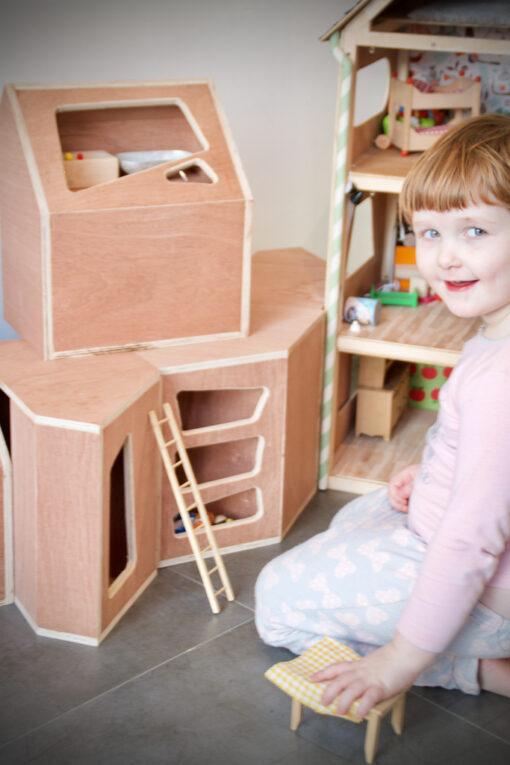 SPEEL-EO-BOX (set van 4 boxen) Kinderkamer