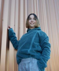 Mike Sweater Blauw Aankleden