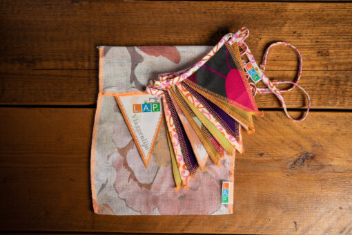 Mini-Vlaggenlijn – multicolor Kinderkamer