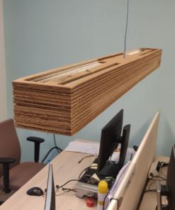 Kartonnen Wanaka Lamp 170 cm – TL Armaturen Verlichting