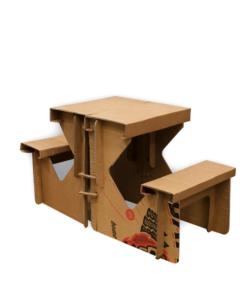 KarTent - Kartonnen Picknicktafel - Duurzaam Karton