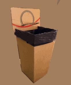 Kartonnen Basketbal Prullenbak Handig