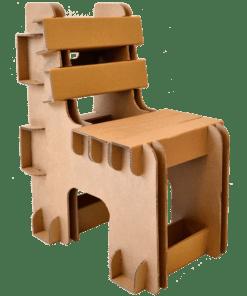 Kartonnen Blok Stoel voor kinderen en volwassenen Kinderkamer