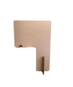 KarTent - Kartonnen Tussenschot voor Horeca en Kantoor - Bureau Wand - 100 x 140 cm - Duurzaam Karton