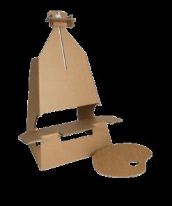 Kartonnen Schildersezel voor op Tafel Speelgoed
