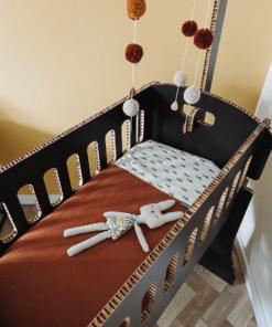 Kartonnen Babywieg Papercrib Zwart Meubels