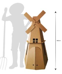 Grote Kartonnen Molen Speelgoed