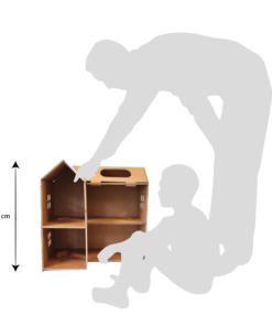 Kartonnen Poppenhuis Speelgoed